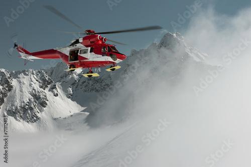 fototapeta na lodówkę Górskie Ochotnicze Pogotowie Ratunkowe