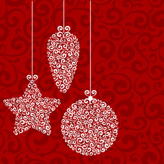 Fototapeta Christmas background