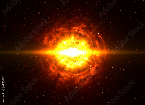 Photo  Big Boom in Deep Space
