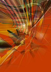 Panel Szklany abstract background