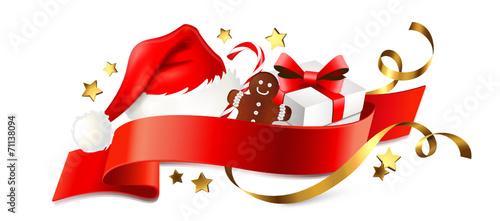 Signet Mit Nikolaus Mütze U Geschenken Weihnachten Buy This