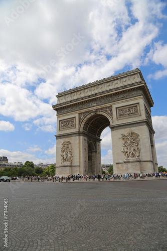 Papiers peints Paris Arc de Triomphe am Place Charles de Gaulles und Champs-Elysées