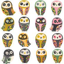 Artistic Owl Illustration