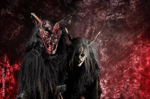 Satan, Teufel Fototapeta