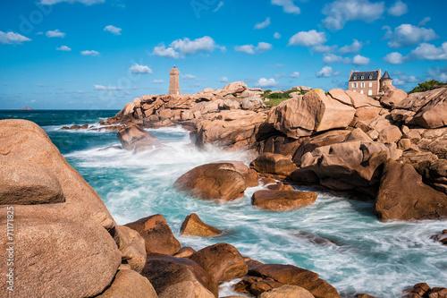 Fotografie, Obraz  Atlantikküste in der Bretagne