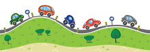 Cars On The Road.