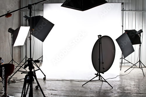 Obraz Studio photo - fototapety do salonu