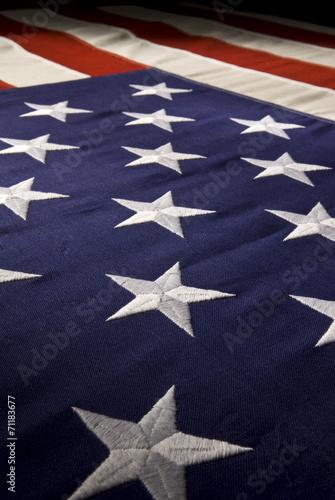Valokuva American Flag Field of Stars