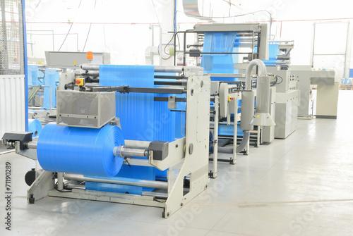 Valokuva  production polyethylene garbage bags