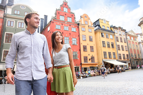 Photo  Couple in Stockholm, Sweden, Europe