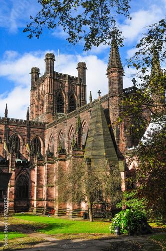 イギリス チェスター大聖堂 Chester Cathedral England  Fotomurales