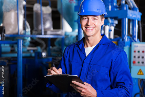 male industrial technician