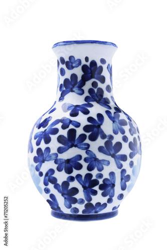 Chinese Porcelain Vase Wallpaper Mural