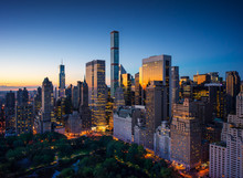 New York City - Sunrise Over C...