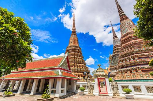 Wat Pho in Bangkok of Thailand Poster