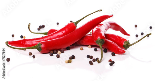 Foto op Plexiglas Hot chili peppers Red chili pepper