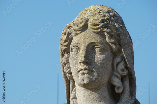 Sculpture de sphinx,Domaine de Chantilly