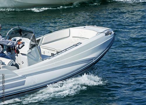 Foto  Pneumatic boat