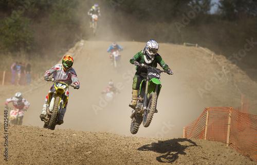 Fotografiet  Moto cross