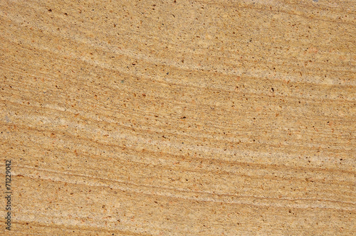Photo  Plate from sandstone closeup