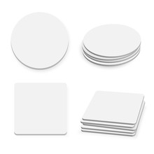 Round And Square Table Coaster...