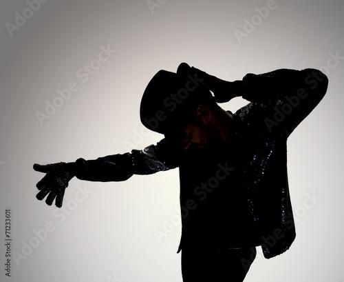 Cuadros en Lienzo dancer silhouette