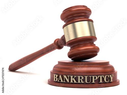 Fotografía  Bankruptcy law