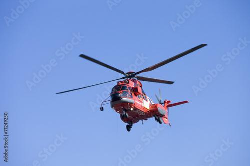 Staande foto 消防ヘリコプター