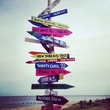 Sign At Ocean View Pier Norfolk Va