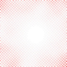 Red Dotted Background