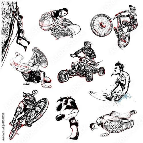 sport-ekstremalny-ilustracja