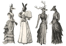 Women With Animal Heads