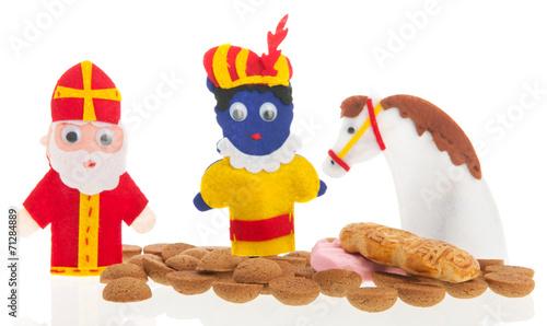 Photo  Handmade puppets and gingernuts for Dutch Sinterklaas
