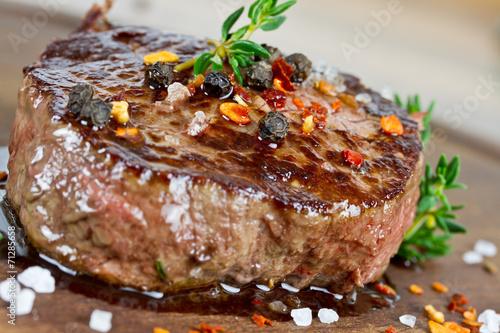 Papiers peints Steakhouse Steak medium