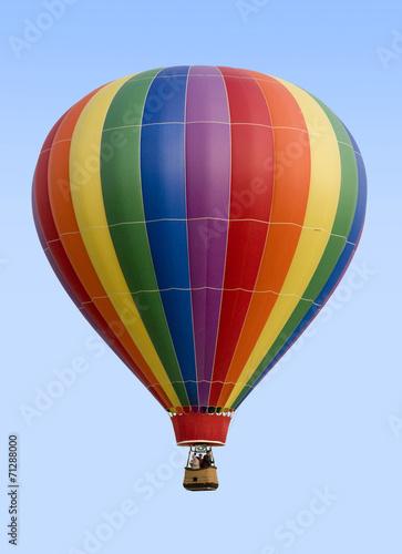 In de dag Ballon Hot Air Balloon Against Blue Sky