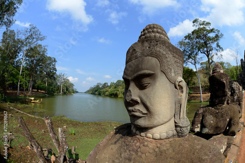 Photo Stands Place of worship ASIA CAMBODIA ANGKOR THOM