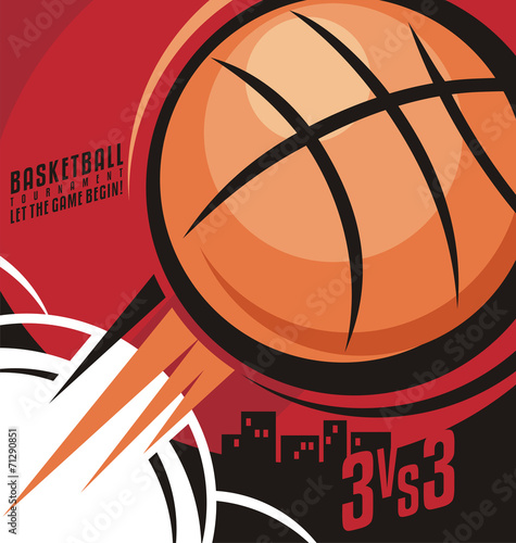 plakat Basketball poster design