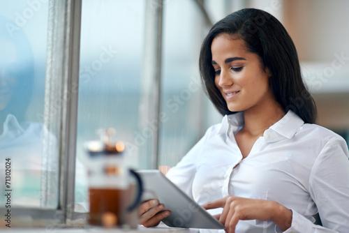 Cuadros en Lienzo modern businesswoman
