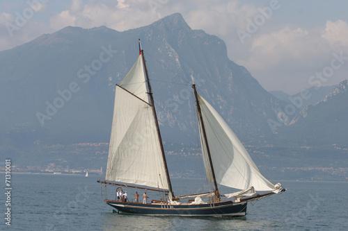 Veliero storico sul lago di Garda © Maurizio Rovati