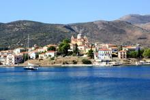 Galaxidi Coastal Town In Greece