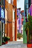 Kolorowe kamieniczki w Burano