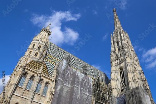 Papiers peints Vienne St. Stephans cathedral, Vienna, Austria