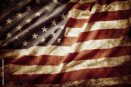 Flaga Ameryki Fototapeta