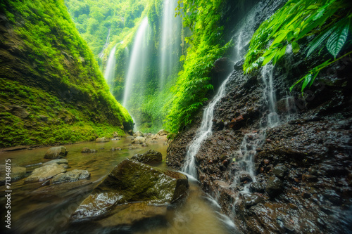 Foto op Aluminium Indonesië Madakaripura waterfall