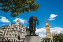 Statue Of Winston Churchill