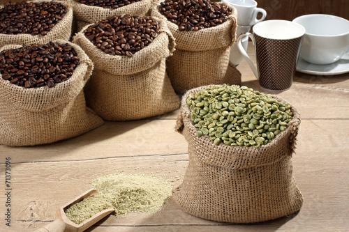 Fotografie, Obraz  caffe verde
