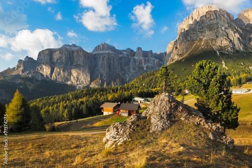 Fotografie, Tablou  Sella group at Passo Pordoi, Dolomites, Italy