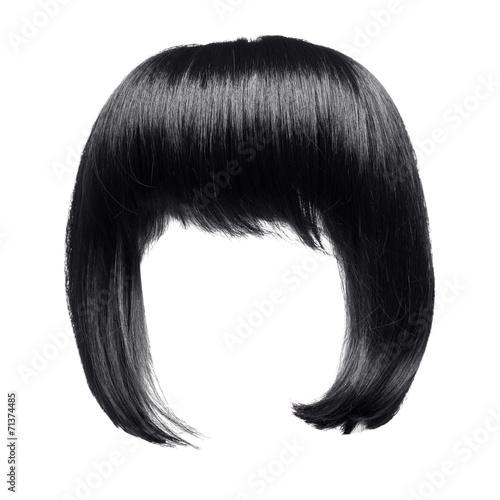 Fotografia black hair isolated