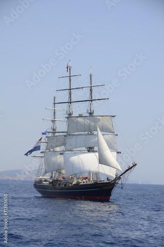 Foto auf AluDibond Schiff sailling