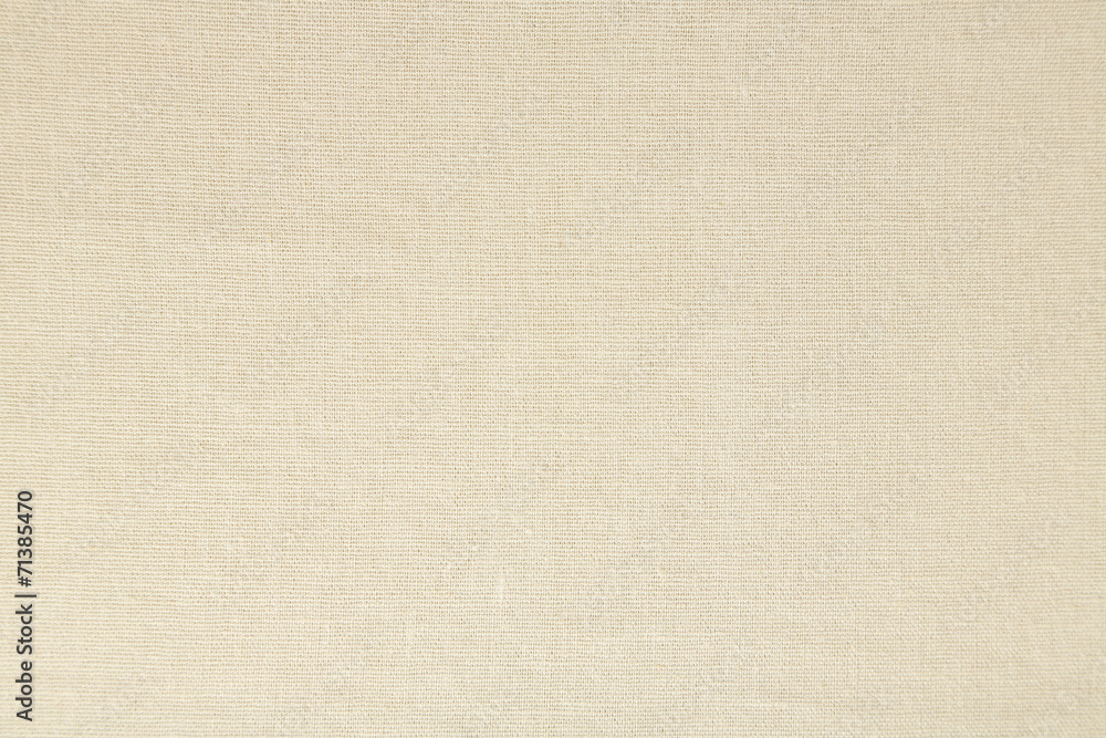 Fototapety, obrazy: Light natural linen texture background